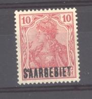 Sarre  :  Mi  33  *    Variété:  S'AARGEBIET - 1920-35 Société Des Nations