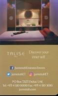 U.A.E Hotel Key, Jumeirah Emirates Towers - Stay Different, Dubai  (1pcs) - Cartas De Hotels