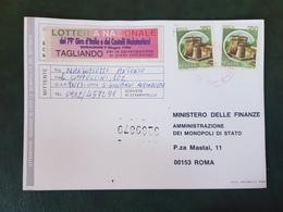 (21057) STORIA POSTALE ITALIA 1996 - 6. 1946-.. Repubblica