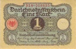 1 Mark Darlehenskassenschein 1920 - [ 3] 1918-1933: Weimarrepubliek