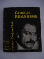 GEORGES BRASSENS : Poètes D'Aujourd'hui N°99 - Edition De 1963 - Détails Sur Les Scans. - Music