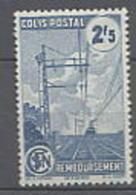 France Colis Postaux N° 218A XX Remboursement : 2 F. 50 Bleu  Sans Charnière, TB - Colis Postaux