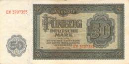 50 Deutsche Mark Deutsche Notenbank (DDR) 1948 - [ 6] 1949-1990 : RDA - Rep. Dem. Tedesca