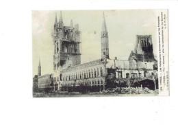 Cpa Belgique - Belgique - YPRES - Les Halles Après Bombardement Par Les Allemands - Guerre 1914-15 - Travaux échafaudage - Belgique