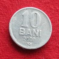 Moldova 10 Bani 2000 KM# 7  Moldavia Moldavie - Moldova
