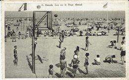 OOSTENDE-OSTENDE- BASKET BALL SUR LA PLAGE - Oostende