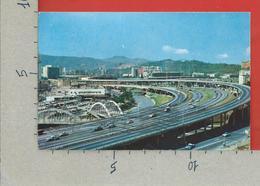 CARTOLINA VG VENEZUELA - CARACAS - Trama De La Autopista Del Este - 9 X 14 - ANN. 1965 - Venezuela