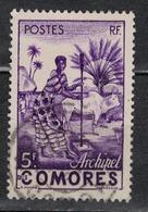 COMORES               N°  YVERT    5    OBLITERE       ( O   3/14  ) - Comoro Islands (1950-1975)