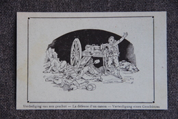 Histoire : Militaria , La Défense D'un Canon. - History