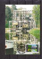 2925 Strépy-Braquegnies - Les Ascenseurs Du Canal Du Centre - Vue De L'assenceur N° 3 - La Louvière