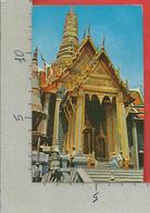 CARTOLINA VG TAILANDIA - BANGKOK - The Close Up Of Thebpidorn - Emerald Budda Temple - 9 X 14 - ANN. 19?? - Tailandia