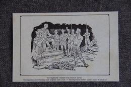 Histoire : VERCINGETORIX Rendant Ses Armes à CESAR - History
