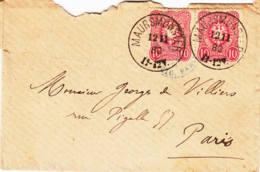 ALLEMAGNE - 1880 - Lettre De Marmoutiers (Alsace) Pour La France - Lettres & Documents