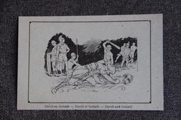 Histoire : DAVID Et GOLIATH - History