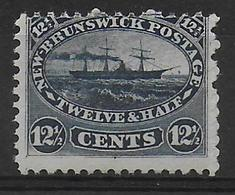 CANADA NEW BRUNSWICK - YVERT N°8 * MH  - COTE = 90 EUR. - Unused Stamps