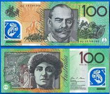 Australie 100 Dollars 2013 NEUF UNC Polymere Australia Prefix AJ Oceania Skrill Bitcoin Paypal OK - Emissioni Governative Decimali 1966-...
