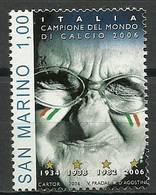 San Marino 2006 Mi 2274 MNH ( ZE2 SMR2274davWC09 ) - Coupe Du Monde