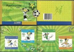 Argentina 2006 Mi Mh 3051-3054 MNH ( ZS3 ARGmh3051-3054davWC09 ) - Coupe Du Monde