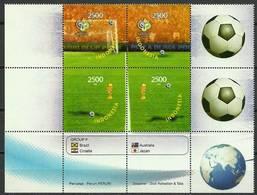 Indonesia 2006 Mi 2466-2469 MNH ( ZS8 INSmarvie2466-2469a-davWC09 ) - Coupe Du Monde