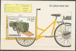Denmark 2013.  CEPT: Post Vehicles. Souvenir Sheet.  Michel Bl.50  MNH. - Blocs-feuillets