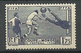 FRANCE 1938 Michel 427 MNH Soccer Football - France