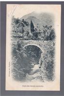ANDORRA  Pont Dels Escals (Andorre) Py- Olivier Edit Perpignan 1902 RARE OLD POSTCARD - Andorra