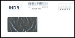 Bund / Post Modern [01129 Dresden]: Stempel 'Holz-Institut - IHD, 2019' / Cancel 'Wood Research Institute' - Naturaleza