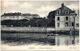 56 LORIENT - L'hopital Maritime - Lorient