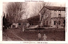 84 SEGURET CAFE GARE AVIGNON VAUCLUSE Vaison - France