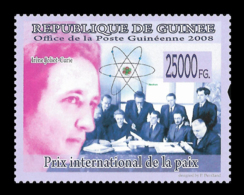 Guinee Irène Joliot-Curie Nobel Prize Chemistry 1V Stamp MNH Michel:5921 - Famous People