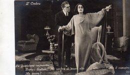 L' Ombra   ,  Film Muto  Del 1920  Regia  Roberto  Roberti - Actors