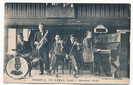 MELUN - LE ROYAL JAZZ - DIRECTION PLEZ (avec Noms Des Musiciens Au Dos De La C P) - Melun