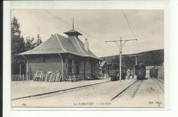 Vosges- La Schlucht, La Gare, Train,N.V. ,tous Frais + 1,30 - Autres Communes