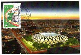 DZ - 2014 - CM Maximum Card Stadiums Arena Amazonia BRAZIL FIFA World Cup Football Estadio Stades Stadion - Stades