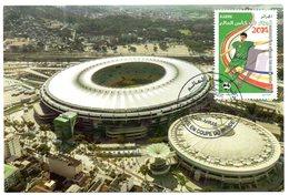 DZ - 2014 - CM Maximum Card Stadiums Maracana BRAZIL FIFA World Cup Football Estadio Stades Stadion Stadien - Stades