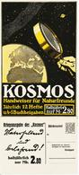 Original-Werbung - Prospekt 1917 :  2-Seiter Kartoniert:  KOSMOS KRIEGSAUSGABE - Ca. 165 X 360 Mm - Publicité