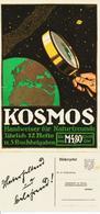 Original-Werbung - Prospekt 1914 :  2-Seiter Kartoniert:  KOSMOS / FRANCKH - STUTTGART - Ca. 165 X 360 Mm - Publicité