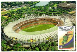 DZ - 2014 - CM Maximum Card Stadiums Minerao Stadium BRAZIL FIFA World Cup Football Estadio Stades Stadion Stadien - Stades