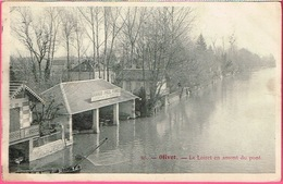 45 - OLIVET - Le Loiret En Amont Du Pont (barque De Pêcheur ).  N° 30 - Frankreich