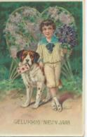 Kind - Enfant - Child -  Gelukkig Nieuwjaar - 1911 - Kinder