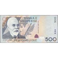 TWN - ALBANIA 72a - 500 Lekë 2007 Prefix HT UNC - Albanie