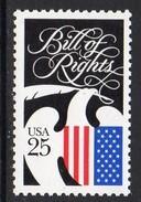USA 1989 Bicentenary Of Bill Of Rights, MNH (SG 2406) - Vereinigte Staaten