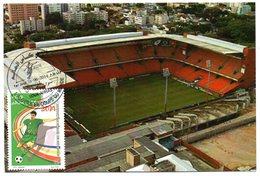DZ - 2014 - CM Maximum Card Stadiums Arena Da Baiaxada BRAZIL FIFA World Cup Football Estadio Stades Stadion Stadien - Stades