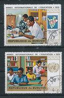 Y&T N° 419/421 - Année Internationnale De L'éducation - Burundi