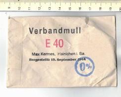 M T - Compresse Verbandmull Croix Rouge Allemand 1944 - 1939-45