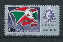 Y&T N° A269  - 50° Anniversaire De L'interpol - Burundi