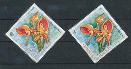 """Y&T N° A521/522 - Orchidée """" Platycoryne"""" - Burundi"""