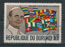Y&T N° 333 - Première Visite Papale Paul VI - Burundi