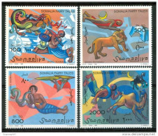 1996 Somalia Fiabe Arabe Arab Tales Contes Arabes Set MNH** - Fairy Tales, Popular Stories & Legends