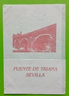 Servilleta ,Ponte De Triana. Sevilha - Serviettes Publicitaires